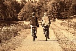niedriger Blutdruck - Fahrrad fahren 02