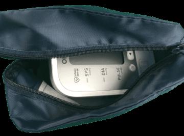 Omron M400 - in der Softtasche